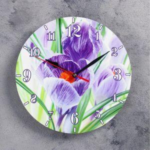 """Часы настенные, серия: Цветы, """"Волшебство"""", 24 см 3841484"""