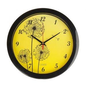 """Часы настенные, серия: Цветы, """"Одуванчики"""", 28х28 см 2436434"""