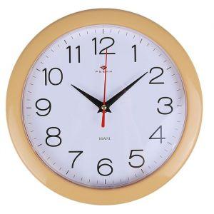"""Часы настенные """"Классика"""", """"Рубин"""", песочн. обод 23х23 см 2566720"""