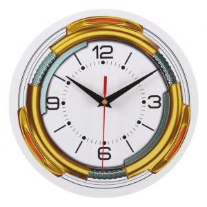 Часы настенные классика, круглые 24 см   3640617