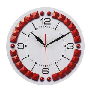 Часы настенные классика, круглые 24 см   3640619