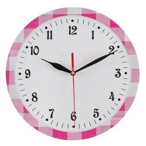 Часы настенные классика, круглые 24 см  микс  3640627