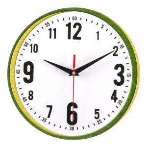 Часы настенные классика, круглые 24 см 3640628