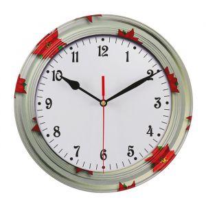 Часы настенные классика, круглые 24 см микс   3640625