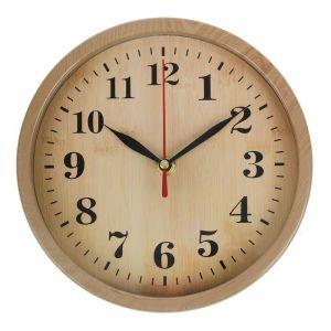 """Часы настенные, серия: Классика, """"Дженни"""", бежевые, d=20 см 2306980"""
