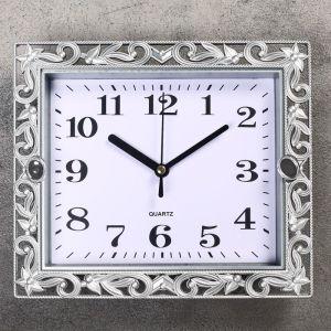 """Часы настенные, серия: Классика, """"Ирэн"""", 21х18 см, дискретный ход, 2457675"""