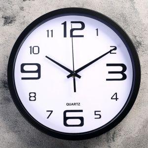 """Часы настенные, серия: Классика, """"Кампанья"""" d=25 см, дискретный ход   4617889"""