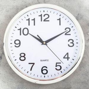 """Часы настенные, серия: Классика, """"Картер"""", d=25 см   4469761"""