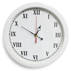 """Часы настенные, серия: Классика, """"Классика"""", белый обод, 28х28 см, микс  2436412"""