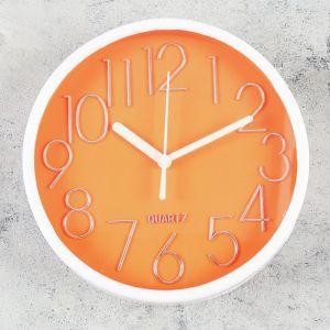 """Часы настенные, серия: Классика, """"Микелон"""", 15х15 см, микс   4457348"""