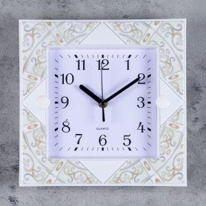"""Часы настенные, серия: Классика, """"Морган"""", 25.5х25.5, микс  3620812"""