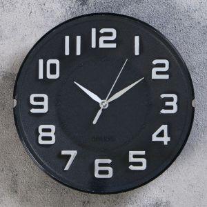 """Часы настенные, серия: Классика, """"Мэдисон"""",  d=20 см, 1 АА,  плавный ход   4716064"""