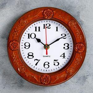 """Часы настенные, серия: Классика, """"Регина"""", d=19.5 см 1716929"""