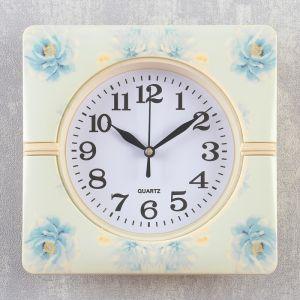 """Часы настенные, серия: Классика, """"Соцветие"""", 19х19х3 см   4156399"""