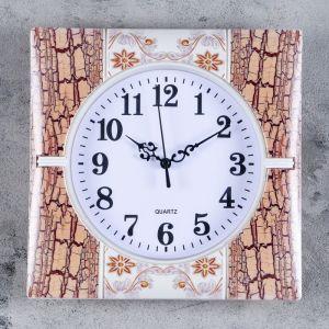 """Часы настенные, серия: Классика, """"Фелиса"""", 25х25 см, микс  3018343"""