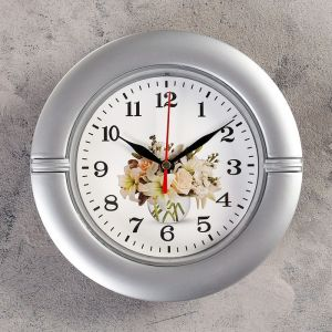 """Часы настенные, серия: Классика, """"Фузета"""", d=19 см   4399272"""