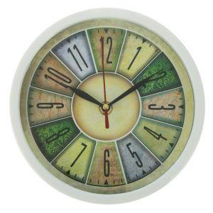 Часы настенные, серия: Классика, «Секторы. Цветные цифры», круглые, d=20 см 2578116
