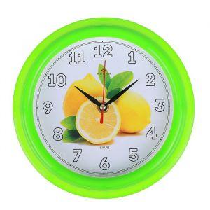 """Часы настенные """"Лимоны"""", """"Рубин"""", 21х21 см 2566680"""