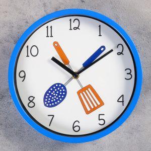 "Часы настенные, серия: Кухня, ""Амадора"", d=25 см, микс   4415647"