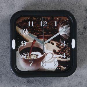 "Часы настенные, серия: Кухня, ""Зёрна"",  d=18.5 см, 1 АА,  плавный ход     4719220"
