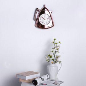 """Часы настенные, серия: Кухня, """"Кофейник"""", бронза, 20х25 см 3620824"""