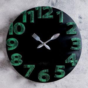 "Часы настенные, серия: Кухня, ""Модерн 2"" 30х30 см, дискретный ход   4620780"