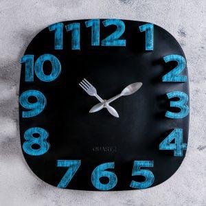 "Часы настенные, серия: Кухня, ""Модерн"" 30х30 см, дискретный ход   4620779"