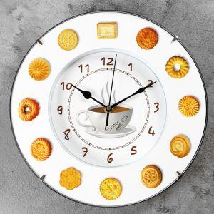 """Часы настенные, серия: Кухня, """"Печеньки"""", d=30 см 911434"""