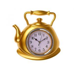 "Часы настенные, серия: Кухня, ""Чайник"" 25х29 см, плавный ход   2865256"