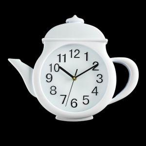 """Часы настенные, серия: Кухня, """"Чайник"""" d=31?30?5 см, дискретный ход  3620898"""