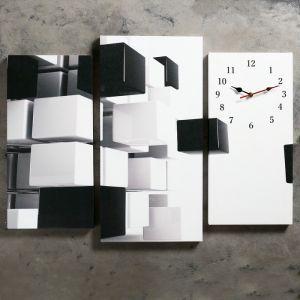 Часы настенные модульные «Абстракция», 60 ? 80 см