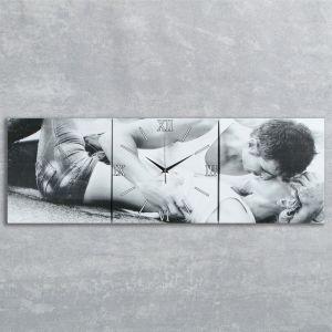 Часы настенные модульные «Любовь», 35 ? 110 см
