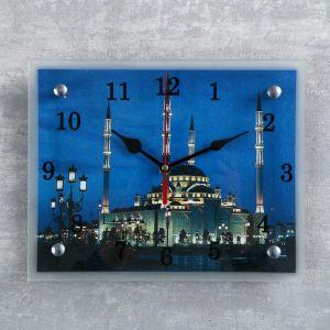 """Часы настенные, серия: Город, """"Мусульманские"""", 20х25  см, микс 1639429"""