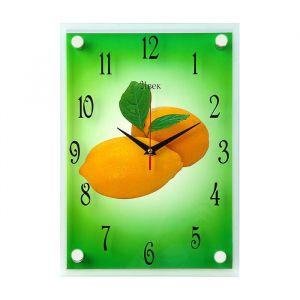 """Часы настенные, серия: Кухня, """"Лимоны"""", вертикальные, 25х35  см, микс 1186199"""