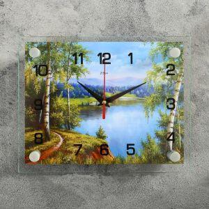 """Часы настенные, серия: Природа, """"Природа"""", 20х26  см, микс 1127957"""
