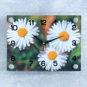 """Часы настенные, серия: Цветы, """"Ромашки"""", 20х26 см  микс 2267895"""