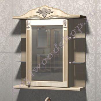 "Зеркало-шкаф ""Глазго Эндрю-80 береза"""