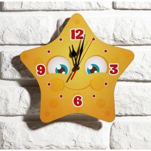 """Часы настенные детские """"Звездочка"""", 24 см  микс  3734020"""