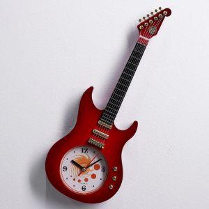 """Часы настенные, серия: Море, """"Гитара"""", микс, 11х38 см 589219"""