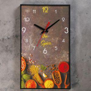 """Часы настенные, серия: Кухня, """"Специи"""", 37х61 см 4464635"""