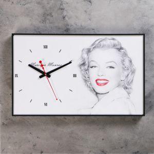 """Часы настенные, серия: Люди, """"Мэрилин Монро"""", 37х60 см 1192865"""