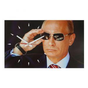 """Часы настенные, серия: Люди, """"Путин"""", 37х61 см 2566717"""
