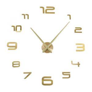 """Часы-наклейка DIY """"Акстелл"""", золотые, 120 см 1306697"""