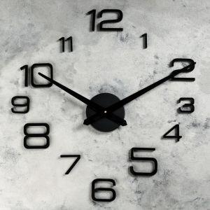 """Часы-наклейка DIY """"Мита"""", чёрные, 120 см    4141503"""