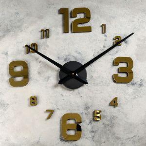 """Часы-наклейка DIY """"Паоли"""", золотые, 120 см 2366726"""