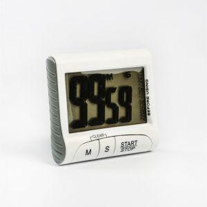 Таймер электронный LuazON LTB-02, работает от 1 ААА не в комплекте, белый 2603009