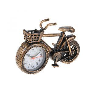 "Будильник ""Велосипед с корзиной"", 18.5х5х13.5 см, микс 2326980"