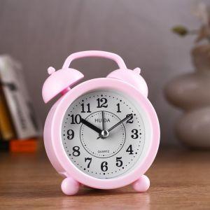 "Будильник ""Классика"", розовый, 4х8.5х12 см 2581929"