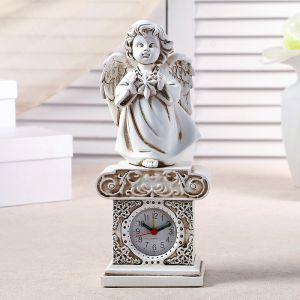 """Часы настольные """"Ангел со звездочкой"""", h=25.5 см 3940704"""