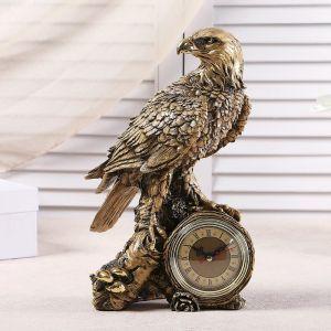"""Часы настольные """"Орел"""", цвет золото,  h=31 см 3940731"""